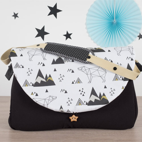 Sac à langer Ours Origami - 159€ LILAXEL