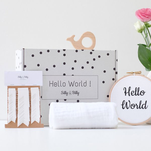 Coffret naissance Hello World - 41€ - SILLY BILLY
